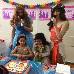 Cinderella 2015 and Moana Party Entertainment