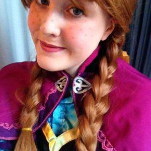 Princess Anna | Character Hire | Nottingham