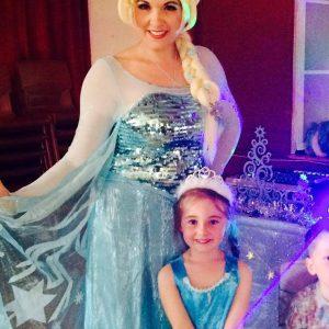 Queen Elsa Party Entertainer   Mansfield