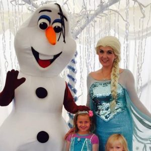 Olaf and Elsa Character Entertainers
