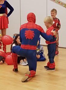 Spider Man Party Entertainer Nottingham