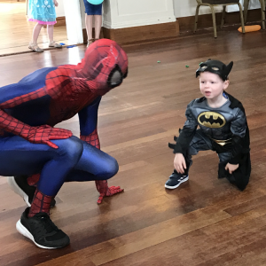 Spider Man Mascot