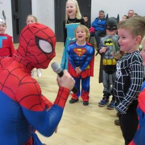 Spiderman Parties Nottingham