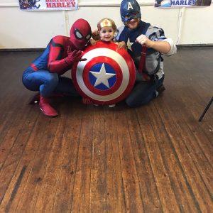 Spider Man | Captain America | Kids Parties