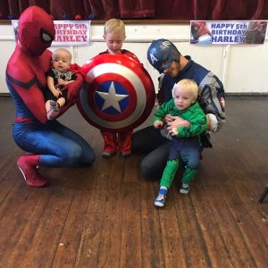 Spider Man | Captain America | Party Entertainment