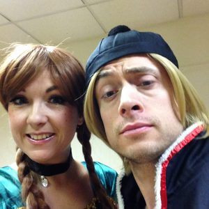 Kristoff and Anna Character Hire
