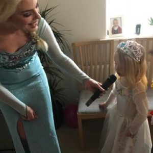Elsa Party Entertainer Leicester