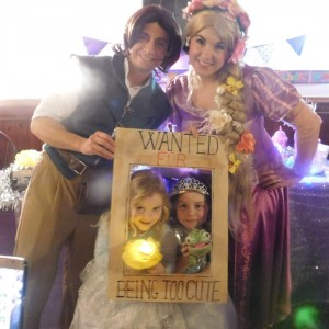 Rapunzel and Flynn Rider Party