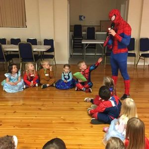 spider man appearance Nottingham | Derby | Mansfield