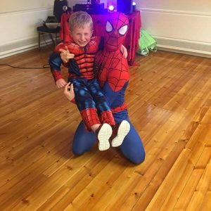 Spider Man Impersonator Child's birthday party