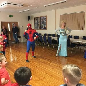 Spider Man and Elsa Nottingham | Derby | Leicester