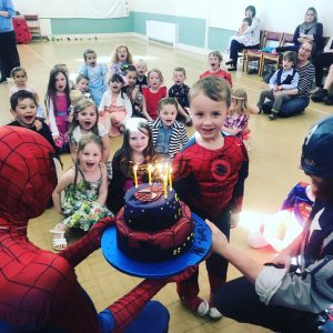 Spider Man and Captain America | Children's Party
