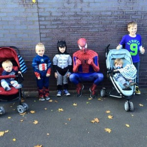 Great Central Railway Superheroes Event