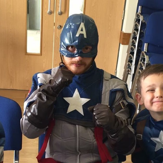 Captain America for Hire | Party Entertainer
