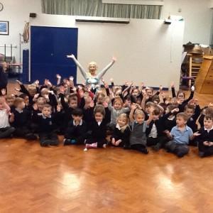 Kaylie Hawksworth as Queen Elsa | School Event