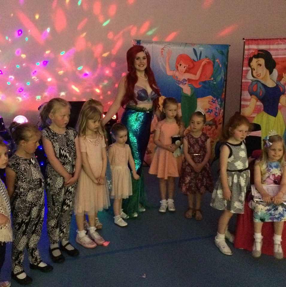 Ariel the Little Mermaid Party Entertainer