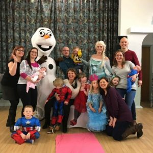 Elsa & Olaf Mascot | Leicester Party Entertainers