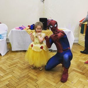 Spider man Party Entertainer Nottingham