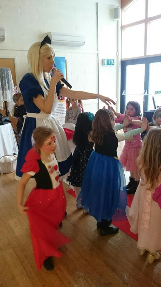 Alice in Wonderland Children's Party Radcliffe