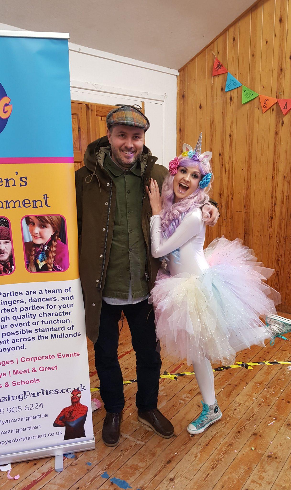 Unicorn Theme Party Entertainers | Nottingham | Derby