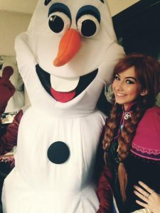 Anna and Olaf Character Hire