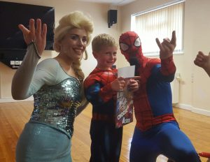 Elda and Spider Man Nottingham