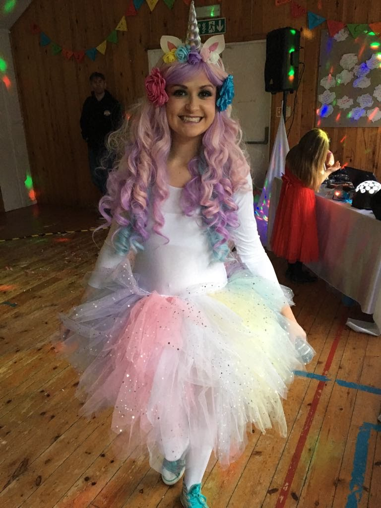 Unicorn party theme Leicester