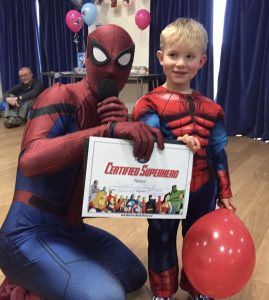 Spider Man Birthday Party Little Eaton
