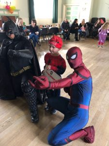 Batman and Spider Man Loughborough