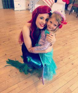 Ariel the little Mermaid Party Entertainer