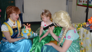 Frozen fever Themed Birthday Party