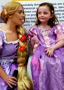 Rapunzel mascot Leicester