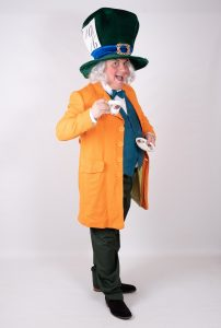 Mad Hatter Party Mascot Entertainer Nottingham
