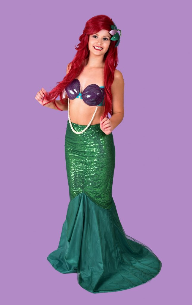 Ariel Little Mermaid Mascot Hire