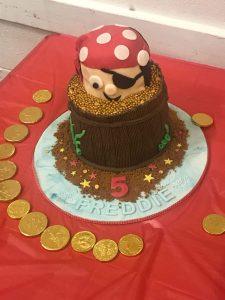 Pirate Borthday Cake