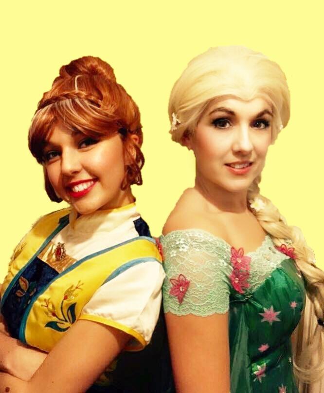 Frozen Fever Anna and Elsa
