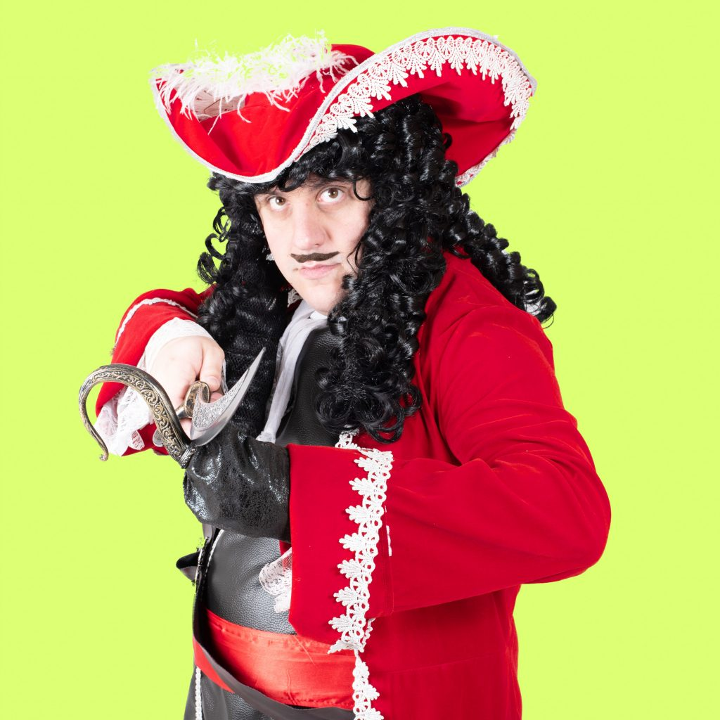Captain Hook Character Hire