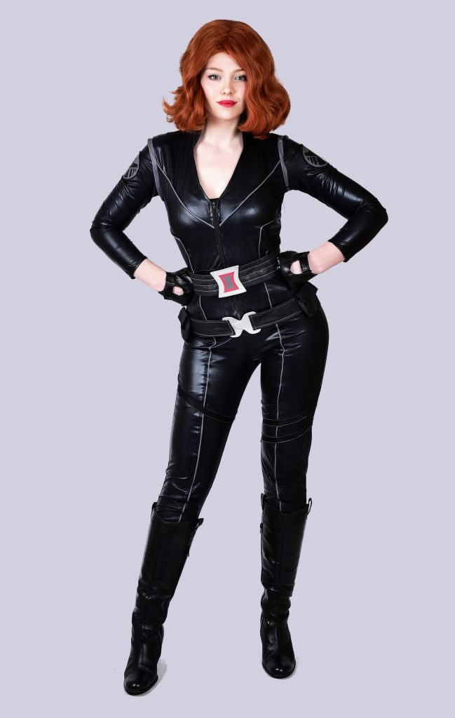 Black Widow Character Hire for events