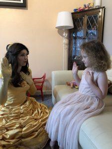 Singing Princess Belle Derby