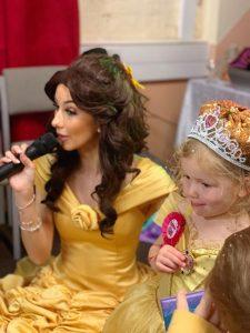 Singing Princess Belle for Hire Derby