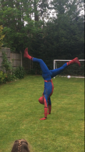 Hire the Real Spider Man Derby