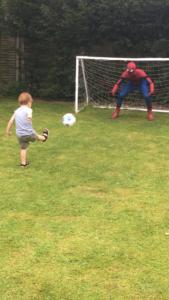 Stunt Spider Man