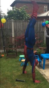 Spider Man Lookalike