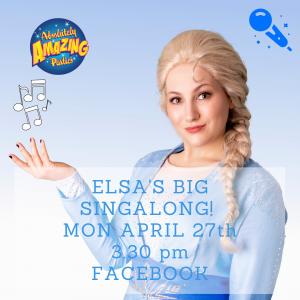 Queen Elsa Live on Facebook