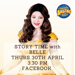 Story Time with Belle on Facebook