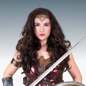 Wonder Woman Party Entertainer