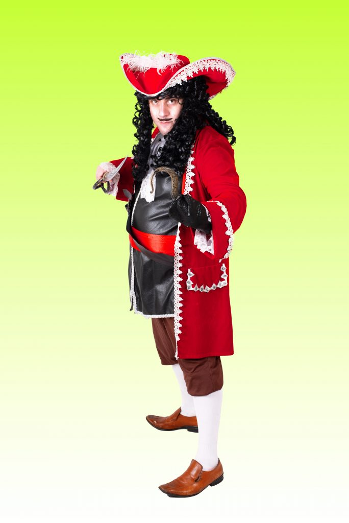 Captain hook party entertainer