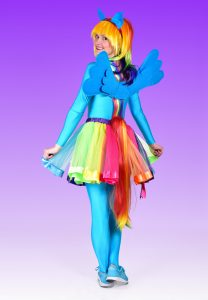 Rainbow Dash Party Entertainer