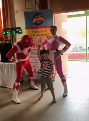 Pink Ranger Party Entertainer