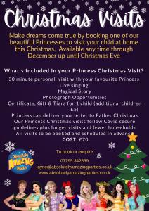 Princess Christmas Visits